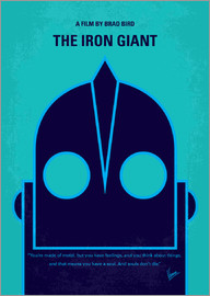 chungkong - No406 My The Iron Giant minimal movie poster