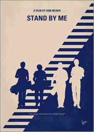 chungkong - No429 My Stand by me minimal movie poster