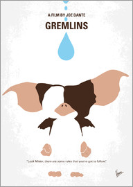 chungkong - No451 My Gremlins minimal movie poster
