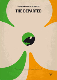 chungkong - No506 My The Departed minimal movie poster