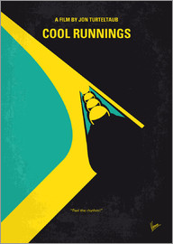 chungkong - No538 My COOL RUNNINGS minimal movie poster