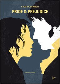 chungkong - No584 My Pride and Prejudice minimal movie poster