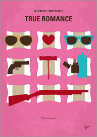 chungkong - No736 My True Romance minimal movie poster
