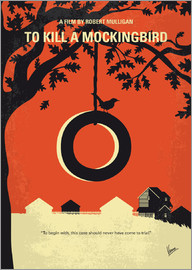 chungkong - No844 My To Kill a Mockingbird minimal movie poster