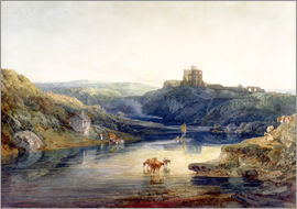 Joseph Mallord William Turner - Norham Castle: Sommermorgen