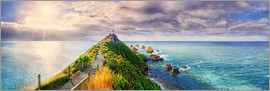 Michael Rucker - Nugget Point Panorama Neuseeland