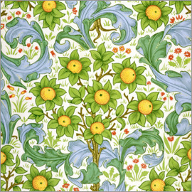 William Morris - Obstgarten