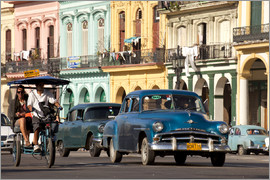 Peter Schickert - Oldtimer in Havanna, Kuba