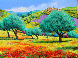Jean-Marc Janiaczyk - 24460 Olive grove facing the sea Kopie