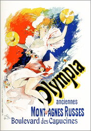 Jules Cheret - Olympia