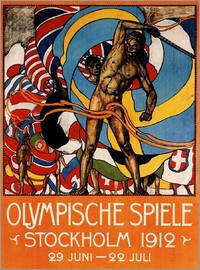 Olympic Games 1912 in Stockholm