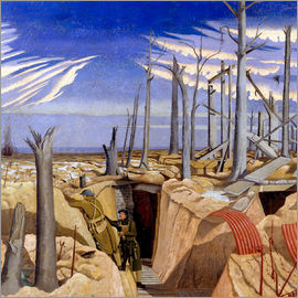 Paul Nash - Oppy Wood, Abend