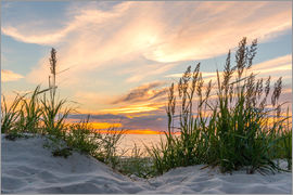 Markus Ulrich - Beach of the Baltic Sea during Sunset