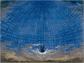Karl Friedrich Schinkel - The Palace of the Queen of the Night