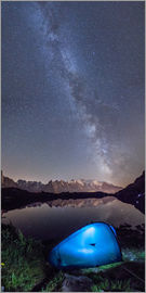 Roberto Sysa Moiola - Panoramic of Milky Way on Mont Blanc, France