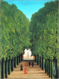 Henri Rousseau - Parkallee in Saint-Cloud