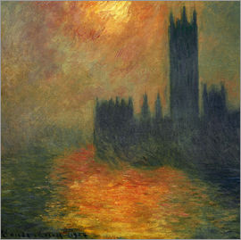Claude Monet - Parlament