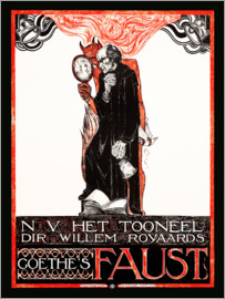 Richard Roland Holst - Plakat für Goethes Faust