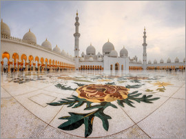 Place of the Sheikh Zayed Grand Mosque