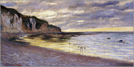 Claude Monet - Pointe De Lailly, Maree Basse