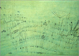 Paul Klee - Prähistorische Vegetation, 1920