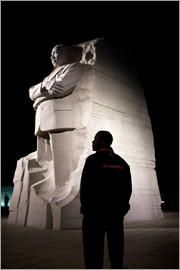 Präsident Barack Obama besichtigt das Martin Luther King, Jr. National Memorial in Washington, DC