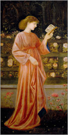 Edward Burne-Jones - Prinzessin Sabra