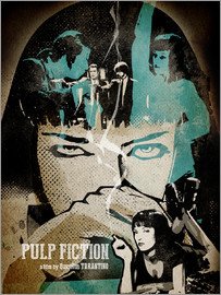Albert Cagnef - PulpFiction Poster Lounge