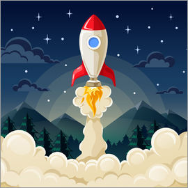 Kidz Collection - Rocket take-off