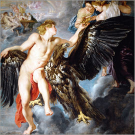 Peter Paul Rubens - Raub des Ganymed