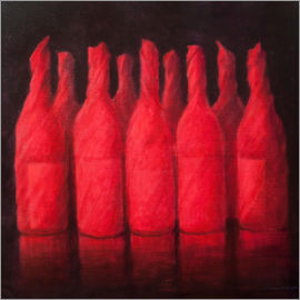 Lincoln Seligman - Red wrapped wine, 2012