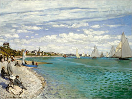 Claude Monet - Regatta in Sainte-Adresse