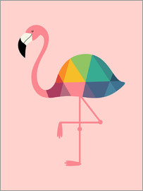 Andy Westface - Regenbogen Flamingo