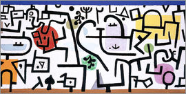 Paul Klee - Rich port (a travel picture)