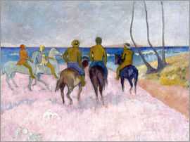 Paul Gauguin - Reiter am Strand (I)