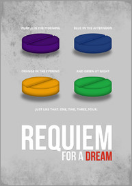 HDMI2K - Requiem for a Dream - Minimal Movie FIlm Alternative