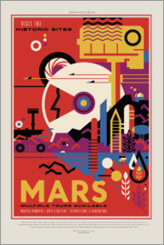 Retro Space Travel - Mars