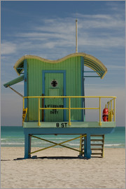 Nancy & Steve Ross - Rettungsstation am South Beach, Miami
