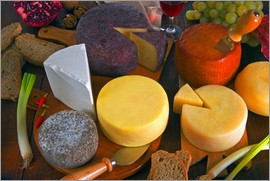 Nico Tondini - Huge cheese plate, Tuscany