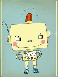 Little Miss Arty - - roboter junge