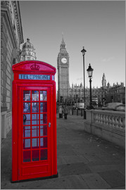 David French - Rote Telefonzelle und Big Ben