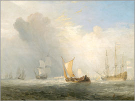 Joseph Mallord William Turner - Rotterdam Fähre