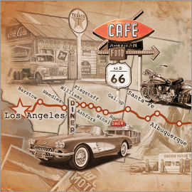 Georg Huber - Route 66 Road Trip