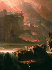 John Martin - Sadak in Search of the Waters of Oblivion, 1812