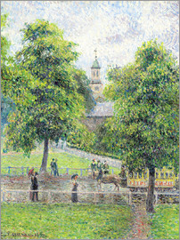 Camille Pissarro - Saint Anne Kirche in Kew, London