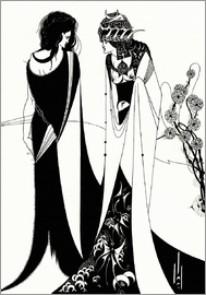 Aubrey Vincent Beardsley - Salome mit Mutter Herodias