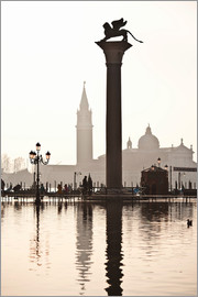 Cubo Images - San Marco with the San Giorgio Church