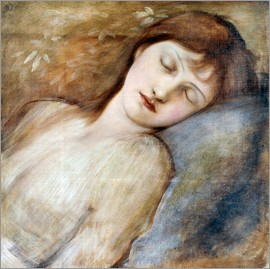 Edward Burne-Jones - Schlafende Prinzessin
