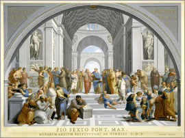Giovanni Volpato - School of Athens (after Raphael) to 1771-79