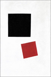 Kasimir Sewerinowitsch  Malewitsch - Black Square and Red Square